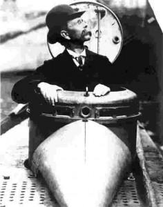 One of the ingenious Irish: John Philip Holland invented the modern submarine.