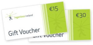 Ingenious Dublin walking tour gift voucher