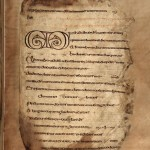 The Cathach psalter
