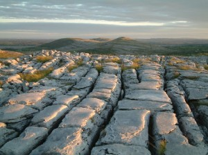The wonderful, unmistakable Burren in Co Clare