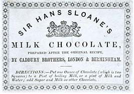Ingenious Irish invention milk chocolate