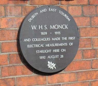 Monck plaque sm