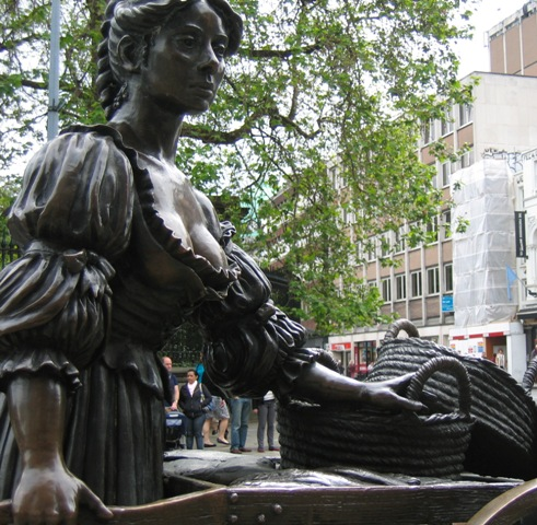 Molly Malone Ingenious Dublin guided walking tour Blood and Guts 2