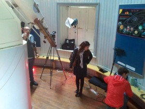 Ingenious Ireland filming at Dunsink with SnugBoro films