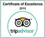 Trip Advisor Certificate of Excellence for Ingenious Ireland Tours